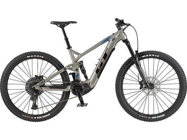 GT Bicycles eForce Amp, Plateado